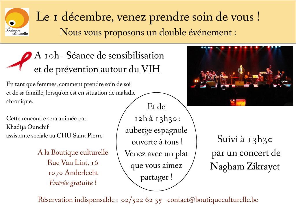 Sensibilisation au VIH et concert