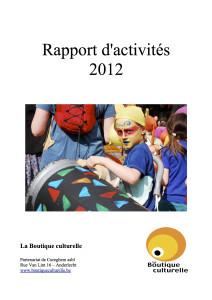 Couv RA 2012