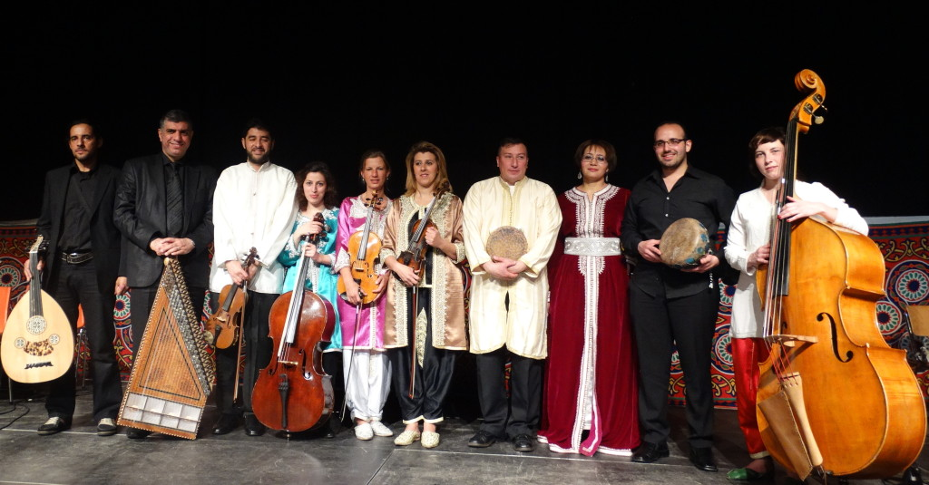 Nagham Zikrayet en concert !