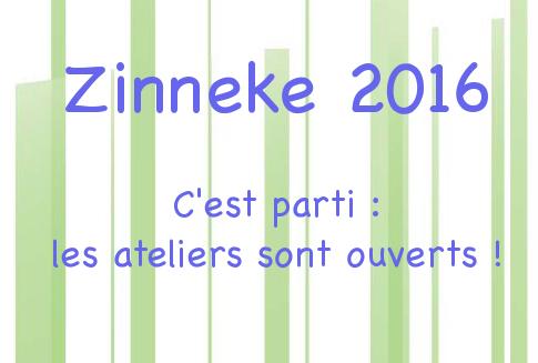 Atelier Zinneke pour la Zinnode de Cureghem