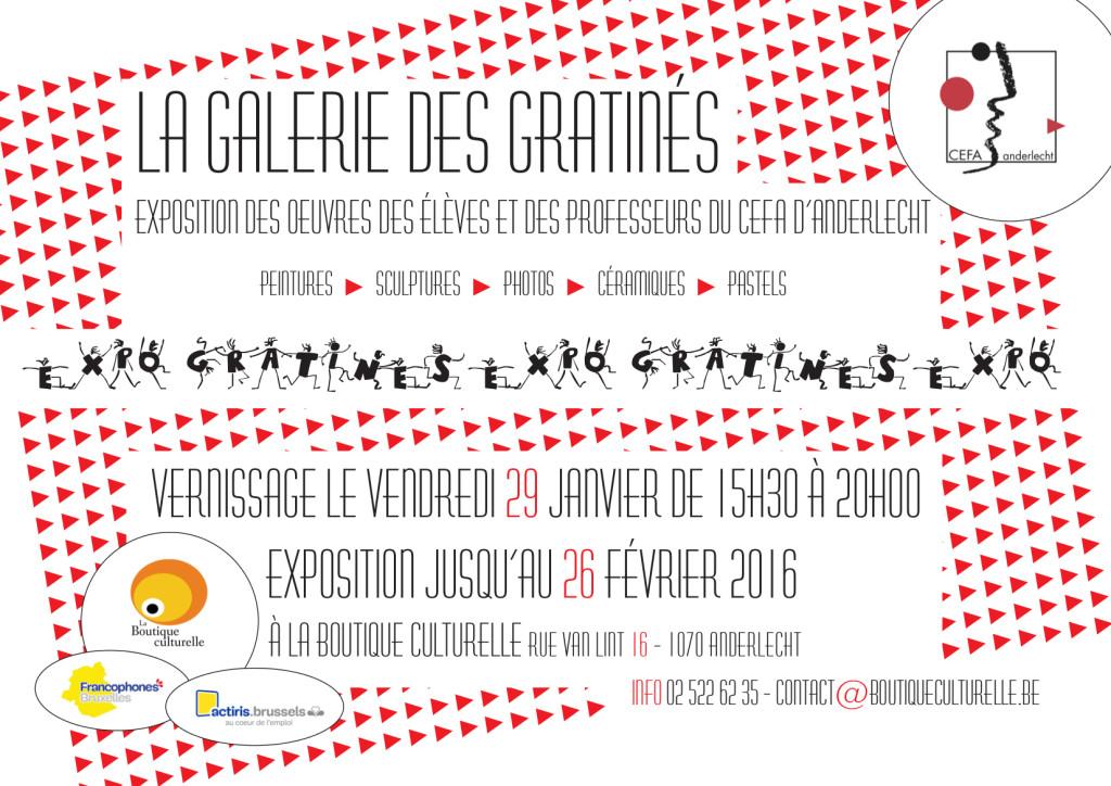 Gratin de cultures – L'expo