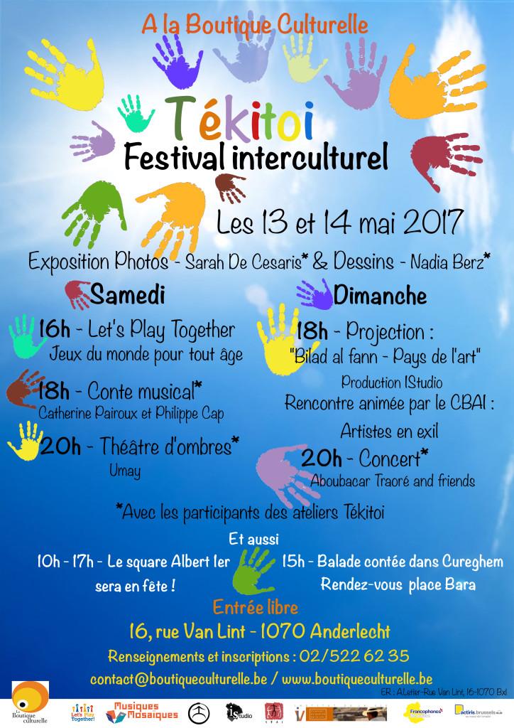 Affiche Festival Tekitoi 2017
