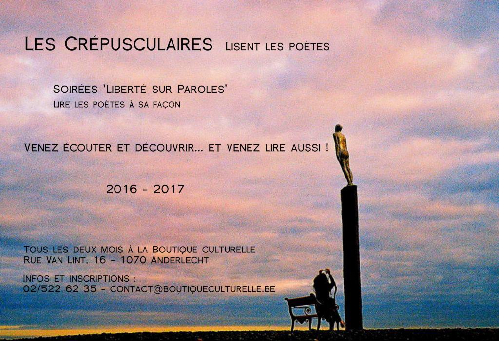 Soirée poésie : la dernière de la saison !