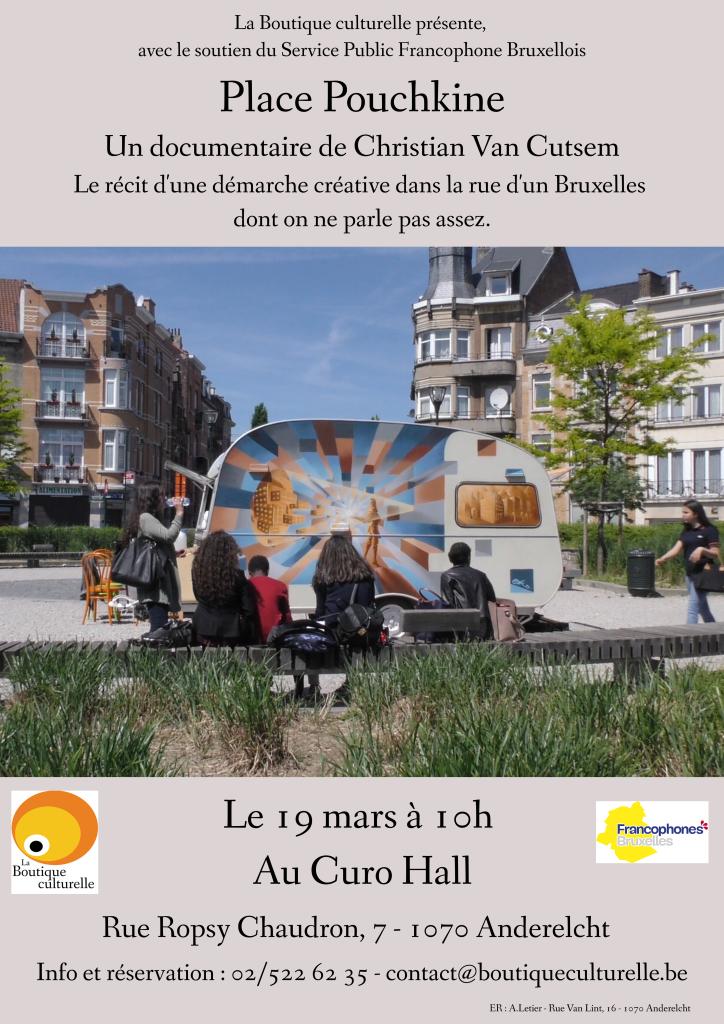 Place Pouchkine - Affiche première 19 mars