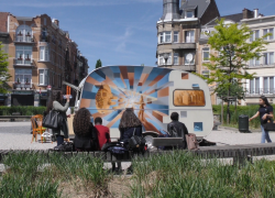 Projection « Place Pouchkine »