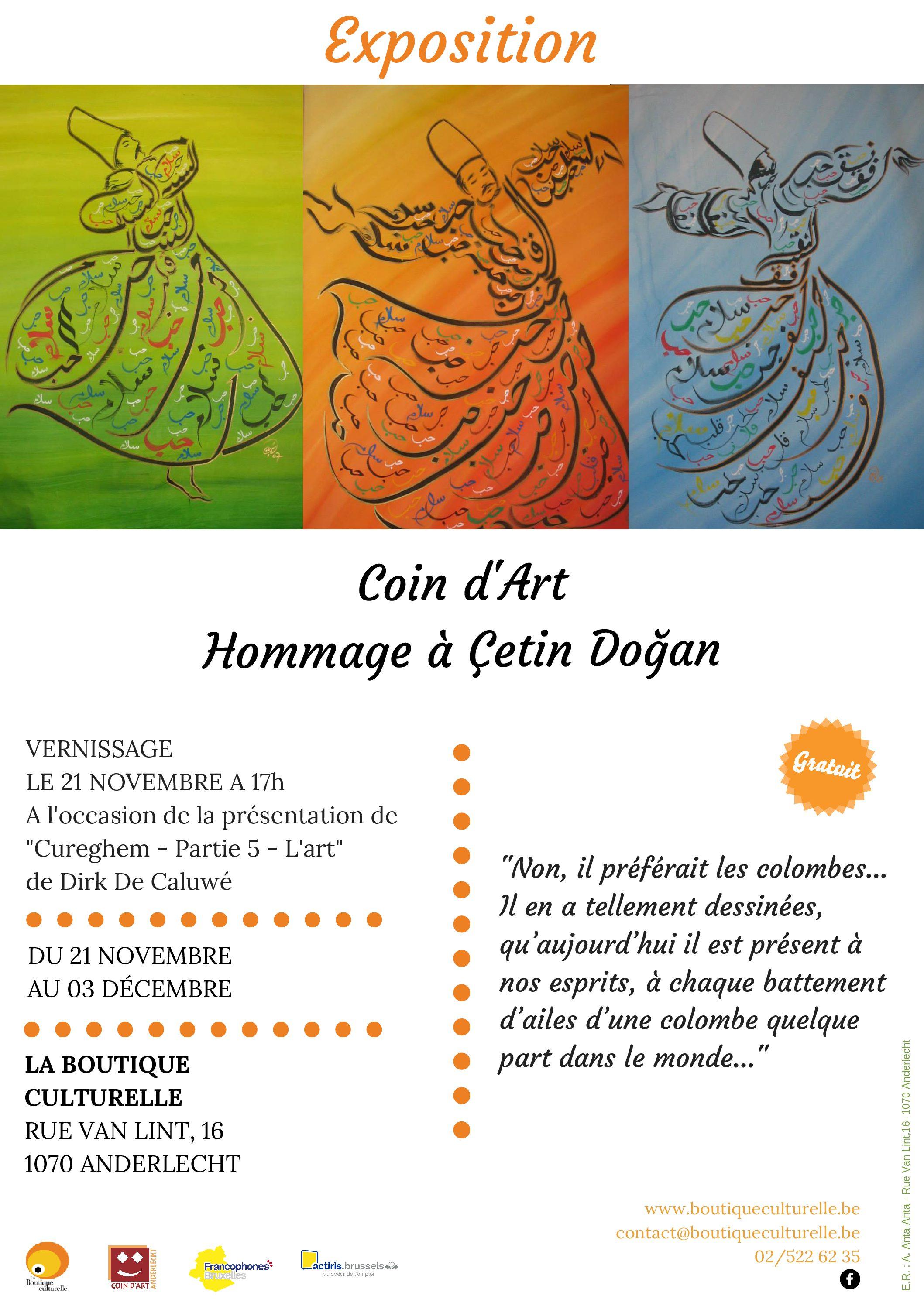 Exposition Hommage à Çetin Doğan